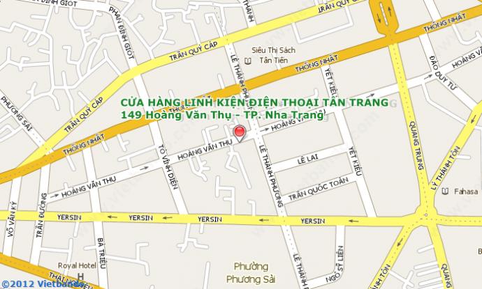 Linh kiện điện thoại di động TÂN TRANG-149 Hoàng Văn Thụ,0583 562 179-3 562 189