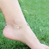 Lắc chân bạc sành điệu