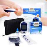 Máy đo đường huyết On Call EZ II+ hộp que thử