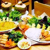 Bánh xèo Nam Bộ, chả cá và nem giòn Nhà Chung