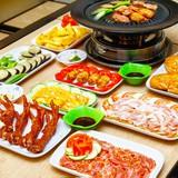 Set nướng kiểu Hàn Quốc tại Quán Vui