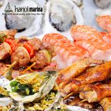 Buffet Hải sản và món ăn Á- Âu Nhà hàng Marina