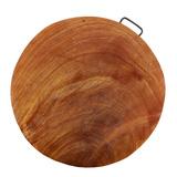 Thớt tròn gỗ tự nhiên