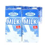 6 hộp sữa Meggle nguyên kem loại 1L của Đức