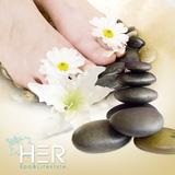 Foot Massage đá nóng thư giãn 90' phút