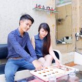 Trọn gói làm tóc Uốn/Nhuộm/Ép - Salon Vinh Sài Gòn