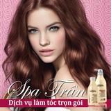 Trọn gói làm tóc Đẹp + Đẳng cấp tại Spa Trần