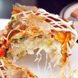Set bánh xèo Nhật Bản kèm Mỳ xào Yaki Soba