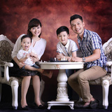 Gói chụp album ảnh tạp chí cả gia đình tại Vivian Studio