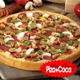 Ăn Pizza, uống Coca Cola Tại Me Gusta Pizza