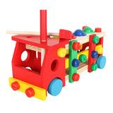Bộ đồ chơi đập bóng hình ô tô cho bé