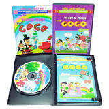 Bộ 3 VCD kèm sách Bé cùng học tiếng Anh với Gogo
