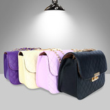 Túi xách dạng hộp giả da sần thời trang