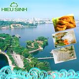 Du ngoạn Hồ Tây mùa thu, thưởng thức ẩm thực chay