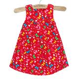 Váy nhung họa tiết xinh xắn