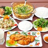 Set cá ngạnh sông 3 món - nhà hàng Sơn Ca