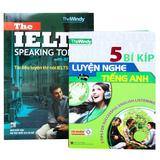 Combo 2 cuốn luyện nghe và luyện nói tiếng Anh