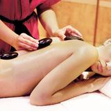 Massage body đá nóng + Tinh dầu quế thư giãn (75')