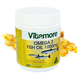 Dầu gan cá Vitamore 200 viên