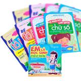 Sách học chữ và tô màu và kỹ năng sống cho bé