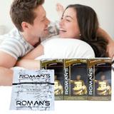 3 Hộp bao cao su Roman's 12 chiếc/hộp