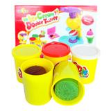 Thỏa sức sáng tạo với bộ đồ chơi đất nặn làm kem