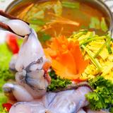 Hấp dẫn lẩu ếch siêu ngon tại nhà hàng Ngự Thiện