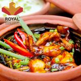 Hấp dẫn cháo ếch thơm ngon tại Royal Food Court