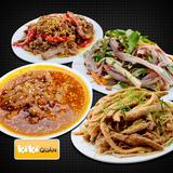 Set ăn gà chọi đặc biệt tại Kê Kê Quán