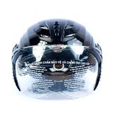 Mũ bảo hiểm có kính bảo vệ an toàn, thời trang