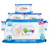 6 bịch khăn giấy ướt Baby Risco