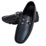 Giày lười giả da nam tính