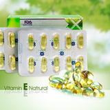 2 hộp Vitamin E Natural chăm sóc sức khỏe, sắc đẹp