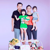 Chụp ảnh gia đình tại Huynhngo Studio