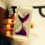 Ốp lưng đồng hồ cát cực độc cho iPhone 5/5S/4/4S