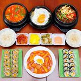 Set ăn Hàn Quốc tròn vị cho 3 - 4 người