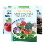 3 cuốn sách dinh dưỡng cho sức khỏe