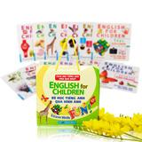 Túi 15 cuốn từ điển tiếng Anh bằng hình cho bé