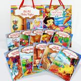 2 túi truyện cổ tích diệu kỳ dành cho bé 17 cuốn