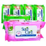 5 gói khăn ướt 80 tờ SureCare
