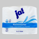 01 bịch giấy Ja! chuyên dùng cho nhà bếp từ Đức