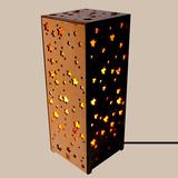 Đèn ngủ bằng gỗ 3D