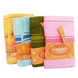 4 khăn mặt kháng khuẩn cao cấp Sella