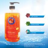 2 chai gel tắm kháng khuẩn Angel Care 600ml