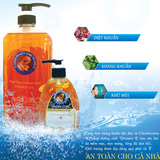Gel tắm, gel rửa tay kháng khuẩn Angel Care