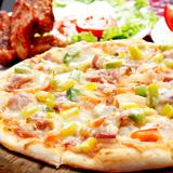 Pizza 6 miếng & sườn nướng BBQ quyến rũ
