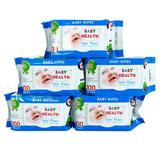 5 gói khăn ướt Baby Health loại 100 tờ