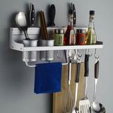 Bộ giá đựng đồ treo nhà bếp