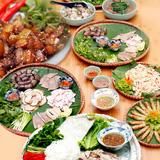 Buffet lợn mán với 20 món tại Quán Quen