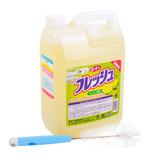 Nước rửa chén Wai 4L (Nhật Bản) + Dụng cụ cọ rửa ly, bình